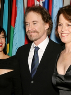 Phoebe Cates, Kevin Kline and Sigourney Weaver in New York