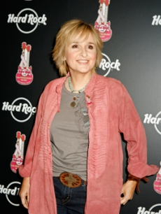 Melissa Etheridge arrives for a show in New York