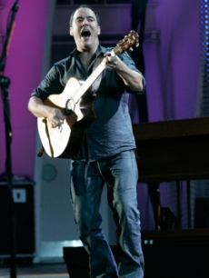 The Dave Matthews Band  performs at the Hollywood Bowl in LA