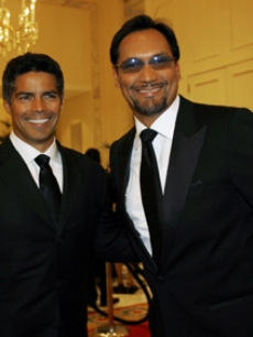 Esai Morales & Jimmy Smits at the National Hispanic Foundation in DC