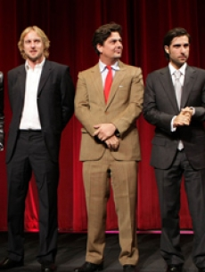 darjeeling premiere owen wilson adrien brody natalie portman jason schwartzman roman coppola blurb WIREIMAGE exp 10 13 07