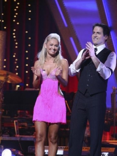 Mark Cuban & Kym Johnson? Safe!