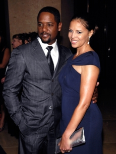 Blair Underwood with wife, Desiree, at the Julia Roberts event