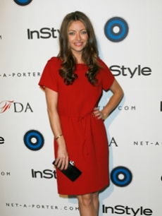 Rebecca Gayheart strikes a pose at an InStyle magazine party