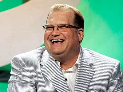 Check out these shots of funnyman Drew Carey...