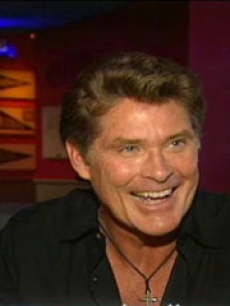 David Hasselhoff reveals all to Access Hollywood