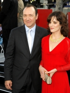 Kevin Spacey chums up with Parker Posey