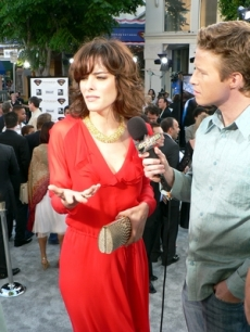 Parker Posey and Billy Super Premiere 6 21 06 AH