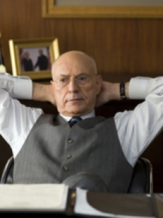 Alan Arkin as Senator Hawkins