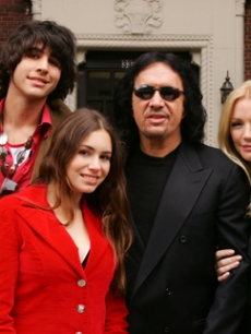 Kiss singer Gene Simmons brought his family to reality tv