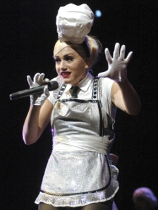 Gwen Stefani performs in Budapest, Hungary last Friday