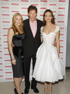 LeAnn Rimes, Denis Leary & Emmy Rossum at a Redbook benefit