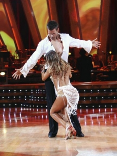 Their sexy dance was caught by Cameron's co-star Susan Lucci!