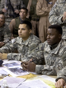 Michael Pena and Derek Luke