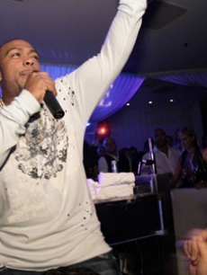 Timbaland takes over PURE nightclub in Las Vegas