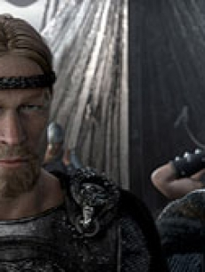 Beowulf and Wiglaf (voiced by Brendan Gleeson)