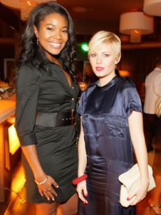 Gabrielle Union & Elisha Cuthbert at the Allure Mag party