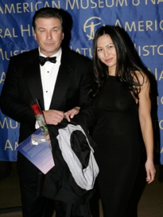 Alec Baldwin & Nicole Seidel at the NY Museum of Natural History