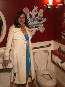 Molly Shannon kicks off the opening of Charmin Restrooms in NYC