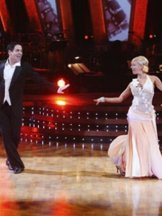 Mark Cuban and Kym Johnson hit the ballroom