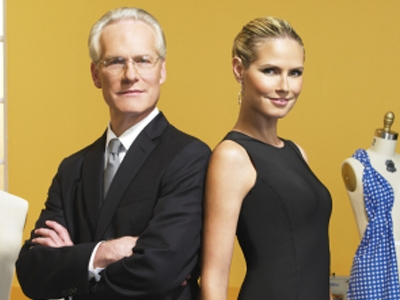 Tim Gunn and Heidi Klum, 'Project Runway'