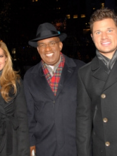 Ashley tisdale, al roker, nick lachey, rockerfeller, nbc 2