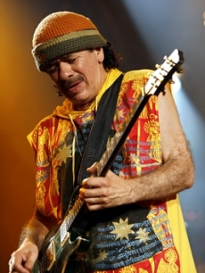 Carlos Santana has been with Clive since Arista's founding