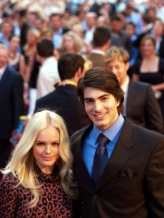 Bosworth, Kate - Brandon Routh LONDON 7 13 06 AP