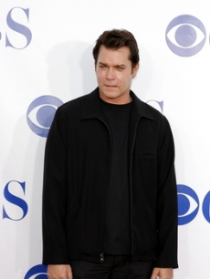 Ray Liotta arrives at the presser