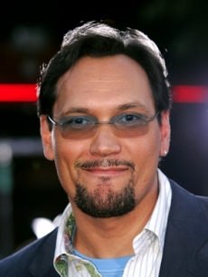 Jimmy Smits smiles for the press
