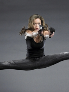 Summer Glau plays John's protector, the terminator Cameron