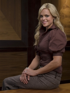 Softball champ Jennie Finch