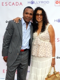 Sugar Ray Leonard and wife Bernadette
