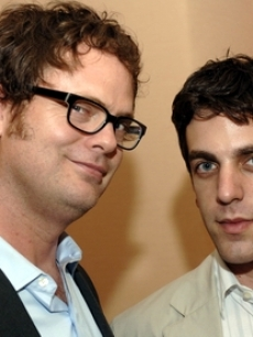 Wilson, Rainn - B.J. Novak TV CRITICS AWARDS 7 22 06 AP