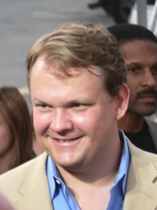 Andy Richter hits the carpet