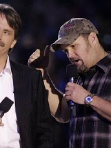 Larry Cable Guy and Foxworthy AP