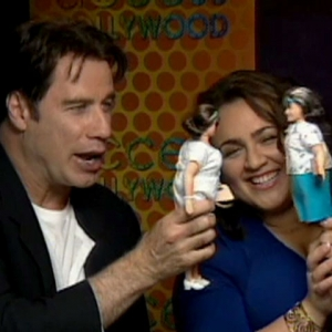 Video 120891 - Travolta & Blonsky Talk 'Hairspray'