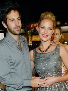 Katherine Heigl and Josh Kelley, Los Angeles, January 7, 2008