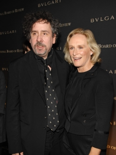 Glenn Close and 'Sweeney Todd' Director Tim Burton