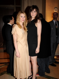 Mandy Moore and Claire Danes at the Palazzo Las Vegas Grand Opening