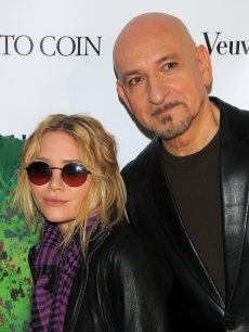 Mary Kate Olsen and Sir Ben Kingsley from the film 'The Wackness' at the Bon Appetit magazine luncheon