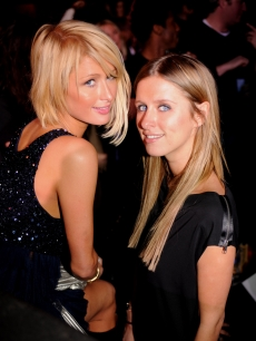 Paris & Nicky Hilton at the MySpace Nights at TAO in Park City