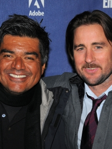 Luke Wilson and George Lopez arrive at the premiere of 'Henry Poole is Here' in Sundance