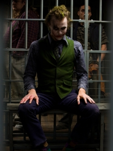 Heath Ledger as The Joker in &#8216;The Dark Knight&#8217;