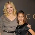 Madonna and her daughter Lourdes Leon arrive at Madonna's benefit gala at UN headquarters