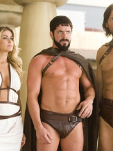 Carmen Electra, Sean Maguire and Kevin Sorbo in 'Meet The Spartans'