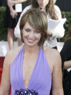 Allison Janney at the SAG Awards red carpet