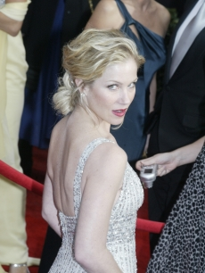 Christina Applegate sparkles at the SAG Awards