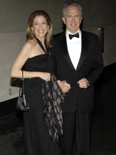 Annette Bening and her husband Warren Beatty arrive at the American Society of Cinematographers Awards gala in LA.  Bening was the recipient of the ASC's Board of Governors Award