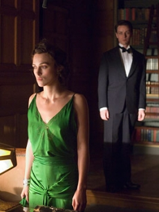 Keira Knightley and James McAvoy